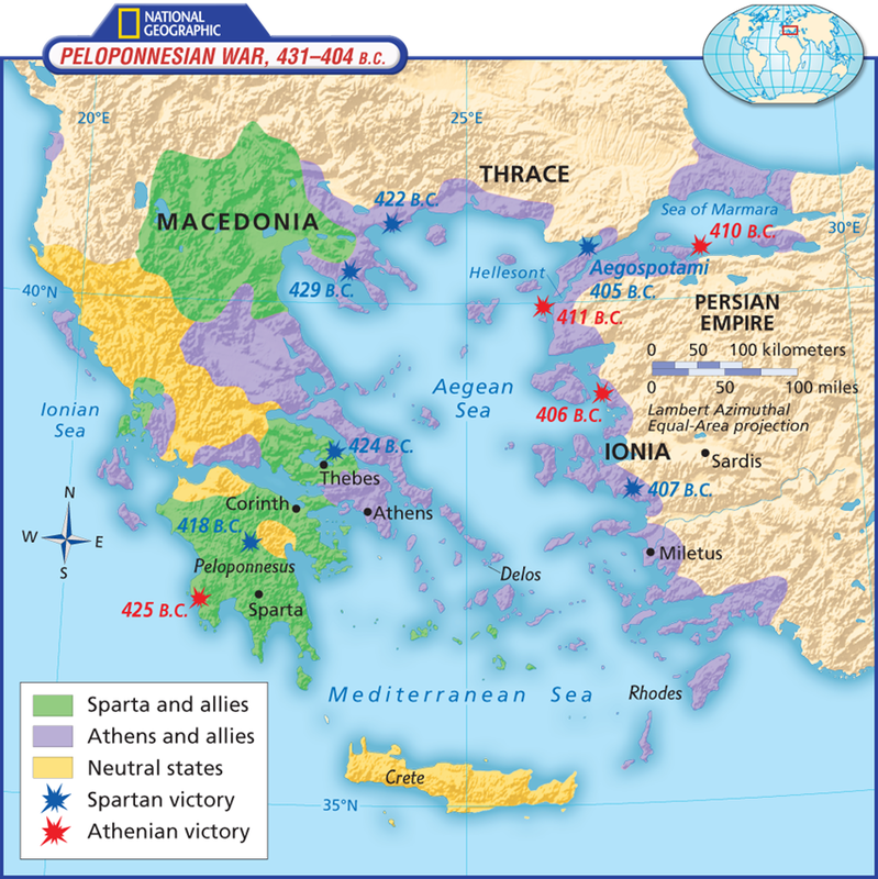 Maps Of Ancient Greece 6th Grade Social Studies